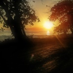 Sunrise in Montezuma, Nicoya Peninsula. Costa Rica.