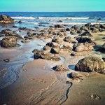 Low tide on la Playa